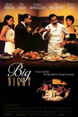 Big Night - Theatrical release poster
