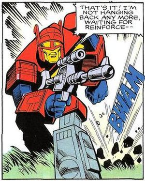 Blaster (Transformers) - Blaster in Marvel Comics