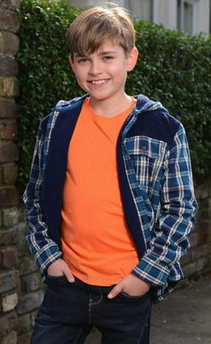 Bobby Beale (EastEnders) - Eliot Carrington as Bobby Beale