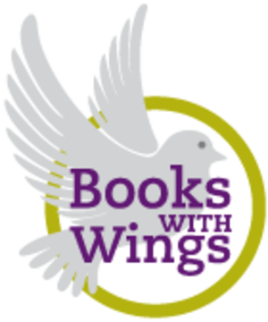 Books With Wings - Image: Books With Wings logo