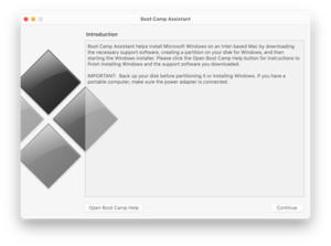 Boot Camp 5.1.2 running on Mac OS X 10.10 Yosemite