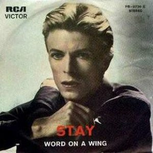 Stay (David Bowie song) - Image: Bowiestay