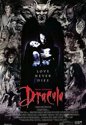 Bram Stoker's Dracula - Theatrical release poster
