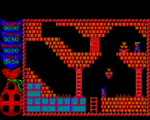 Camelot (video game) - In-game screenshot (BBC Micro)