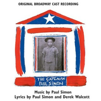 """The Capeman - """"Cover"""" for digital release of The Capeman (Original Broadway Cast Recording)"""