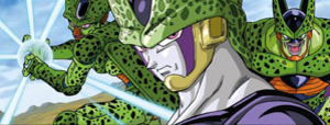 Cell (Dragon Ball) - Image: Cell lithograph