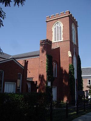 Christ Episcopal Church (Tarrytown, New York) - View from southeast