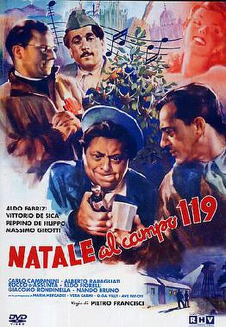 Christmas at Camp 119 - DVD cover