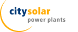 City Solar - Image: Citysolar power plants logo