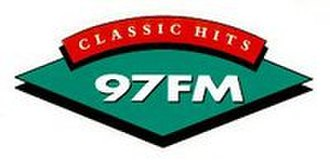 The Hits (radio station) - The local version of the green diamond Classic Hits logo used by Classic Hits 97FM Auckland in the 1990s.