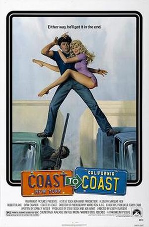 Coast to Coast (1980 film) - Theatrical release poster