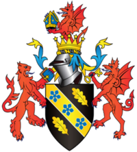 Coat of arms of the University of Wales Trinity Saint David.png