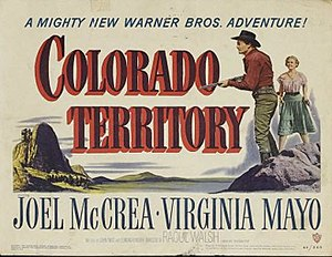 Colorado Territory (film) - Image: Colorado Territory movie poster