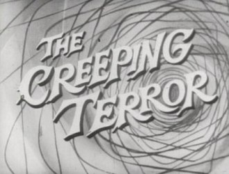 The Creeping Terror - Title screen