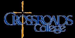 Crossroads College - Image: Crossroadscollegelog o