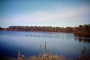 Cumberland, New Jersey - Image: Cumberlandpondinsumm er