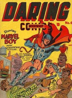 Daring Mystery Comics - Image: Daring Mystery 6
