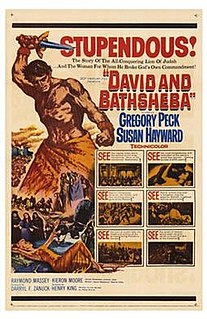 <i>David and Bathsheba</i> (film) 1951 film by Henry King
