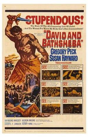 David and Bathsheba (film) - Original film poster