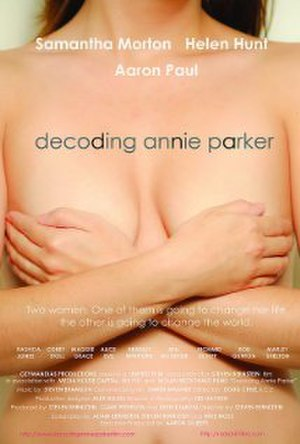 Decoding Annie Parker - Theatrical release poster