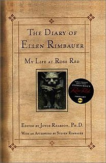 <i>The Diary of Ellen Rimbauer: My Life at Rose Red</i> 2001 novel by Ridley Pearson