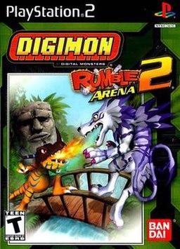 Risultati immagini per Digimon Rumble Arena 2