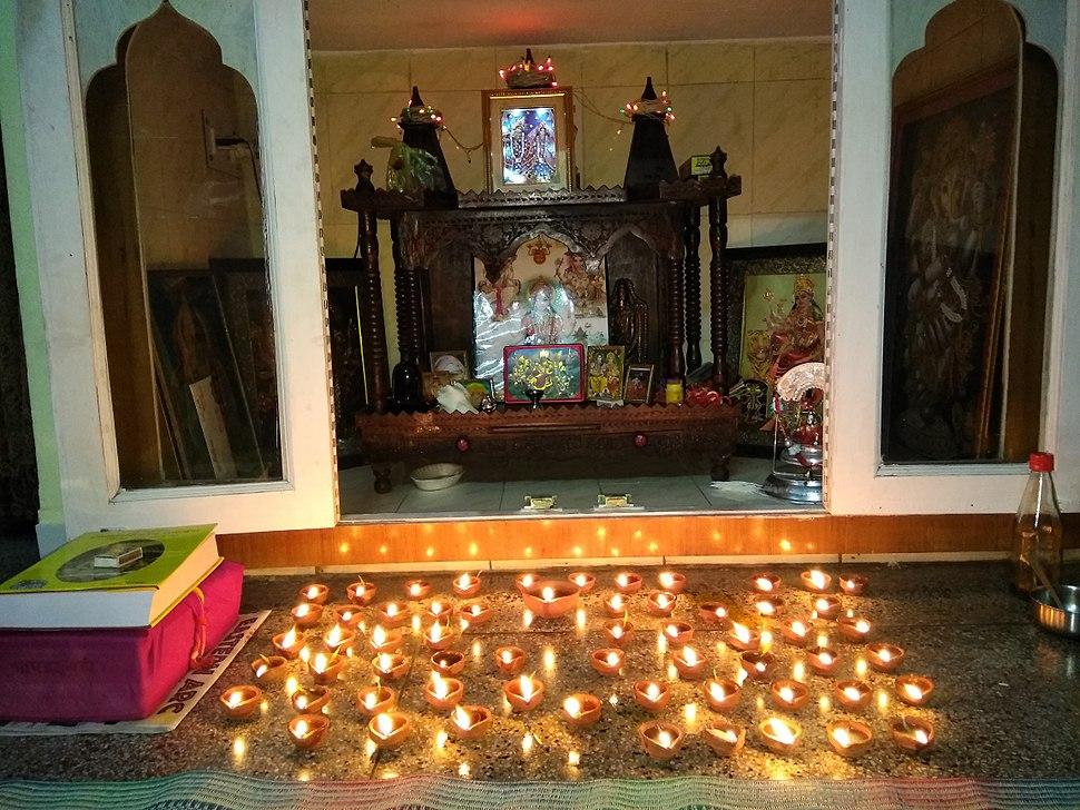 Diwali Pujan at Haridwar