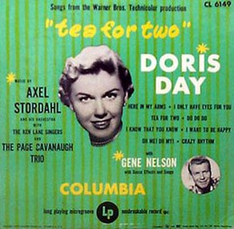 Tea for Two (album) - Image: Doris Day TF2