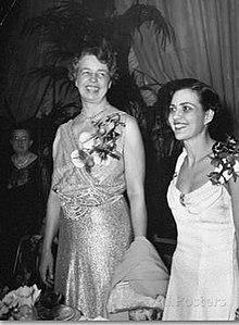 Doris Fleeson com Eleanor Roosevelt