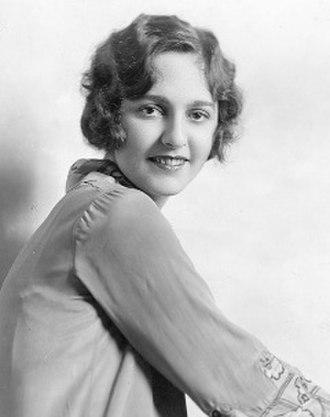 Dorothy Burgess - Image: Dorothy Burgess