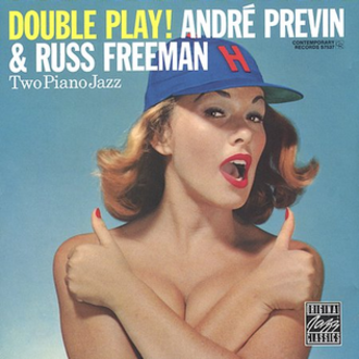 Hollywood Stars - Cover of Double Play! (1957)