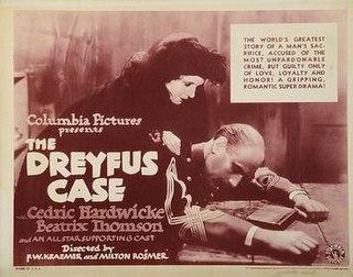 <i>Dreyfus</i> (1931 film) 1931 film
