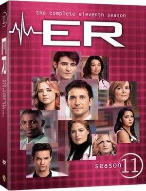 ER (season 11) - Image: ER Season 11 DVD cover
