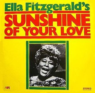Sunshine of Your Love (album) - Image: Ella Sunshine of Your Love