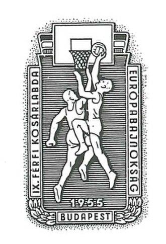 EuroBasket 1955 - Image: Euro Basket 1955 logo