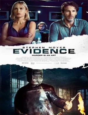 Evidence (2013 film) - Theatrical release poster