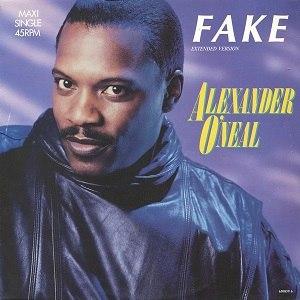 Fake (Alexander O'Neal song) - Image: Fake cdm