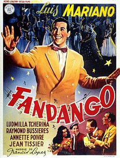 <i>Fandango</i> (1949 film) 1949 French film