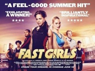 Fast Girls - Theatrical release poster