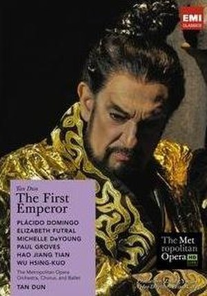 The First Emperor - Official DVD cover from Premiere Production with Plácido Domingo as Emperor Qin
