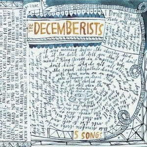 5 Songs (The Decemberists EP) - Image: Fivesongsep