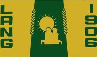 Lang, Saskatchewan - Image: Flag of Lang