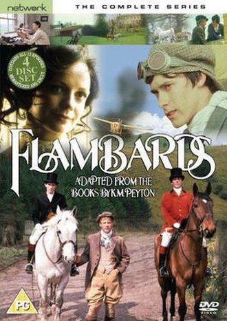 Flambards (TV series) - Flambards the complete collection DVD cover