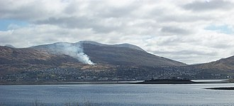 Fort William, Highland - Fort William viewed from Corpach