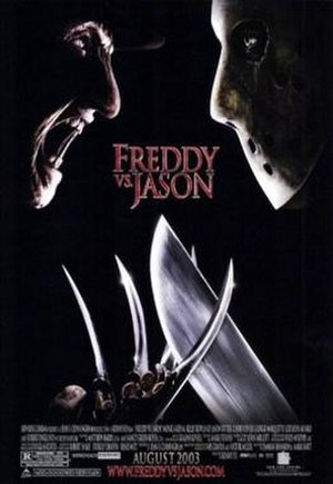 Freddy vs. Jason - Theatrical release poster