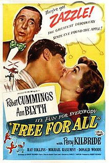 <i>Free for All</i> (film) 1949 film by Charles Barton