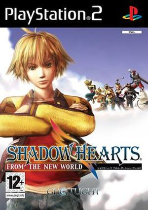 Shadow Hearts: From the New World - PAL cover art