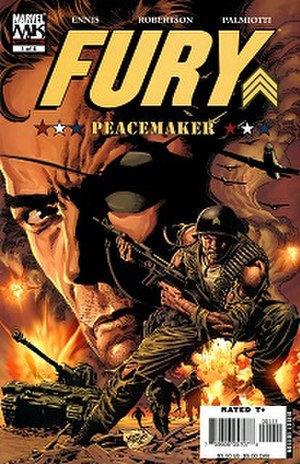 Fury: Peacemaker - Art by Mike Deodato