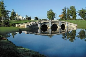 Stoke Park, Buckinghamshire - The Repton Bridge on Stoke Park's Golf Course