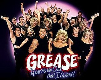 Grease: You're the One That I Want! - Image: Grease NB Clogo
